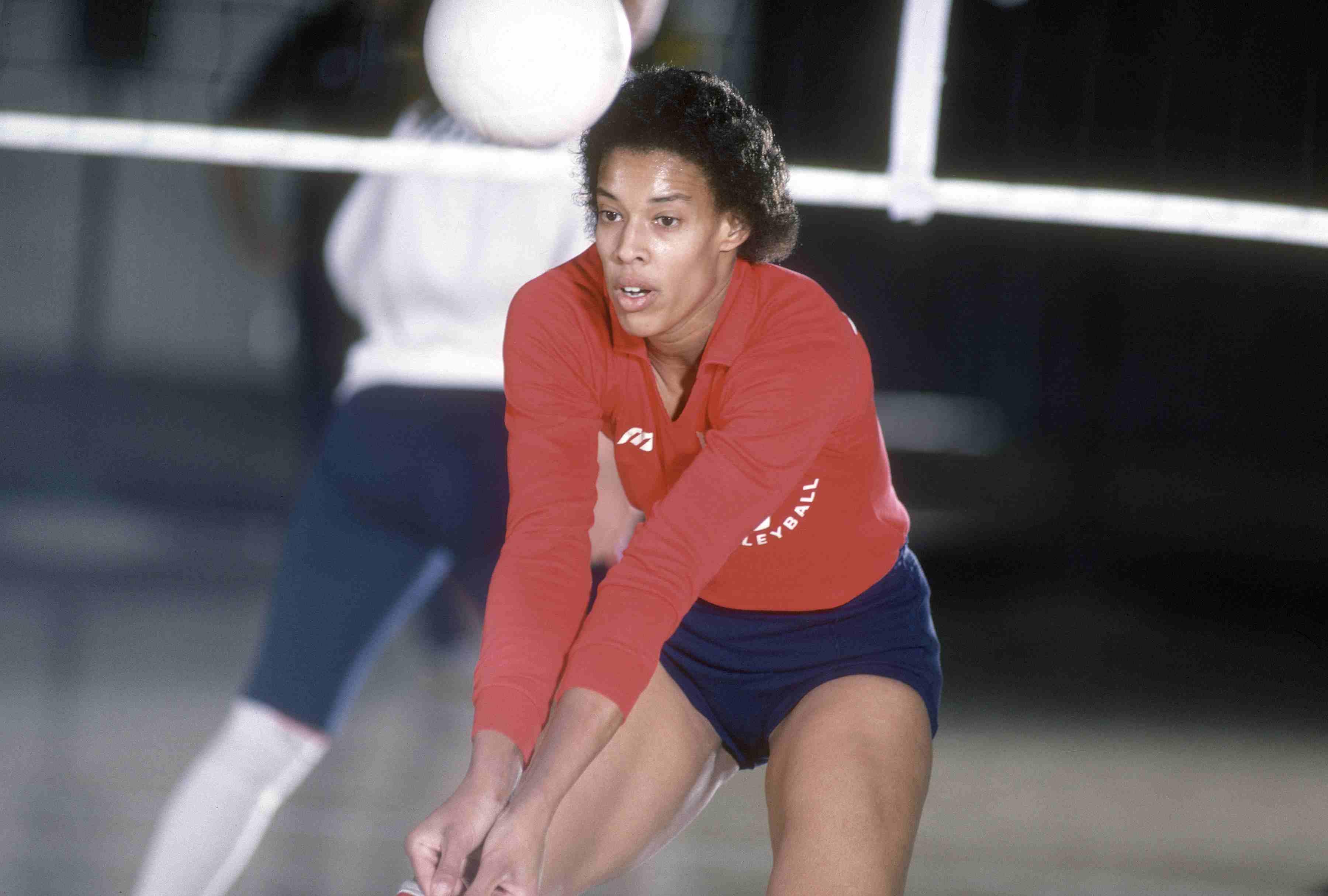 Flo Hyman - USA Women's Volleyball