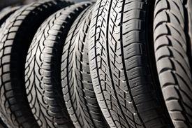 Tires Close Up