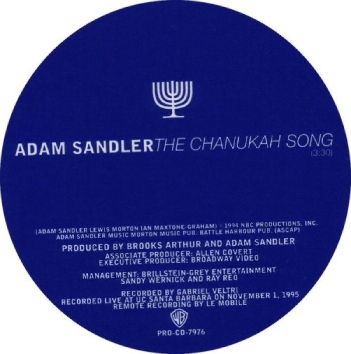 Adam Sandler - The Chanukah Song