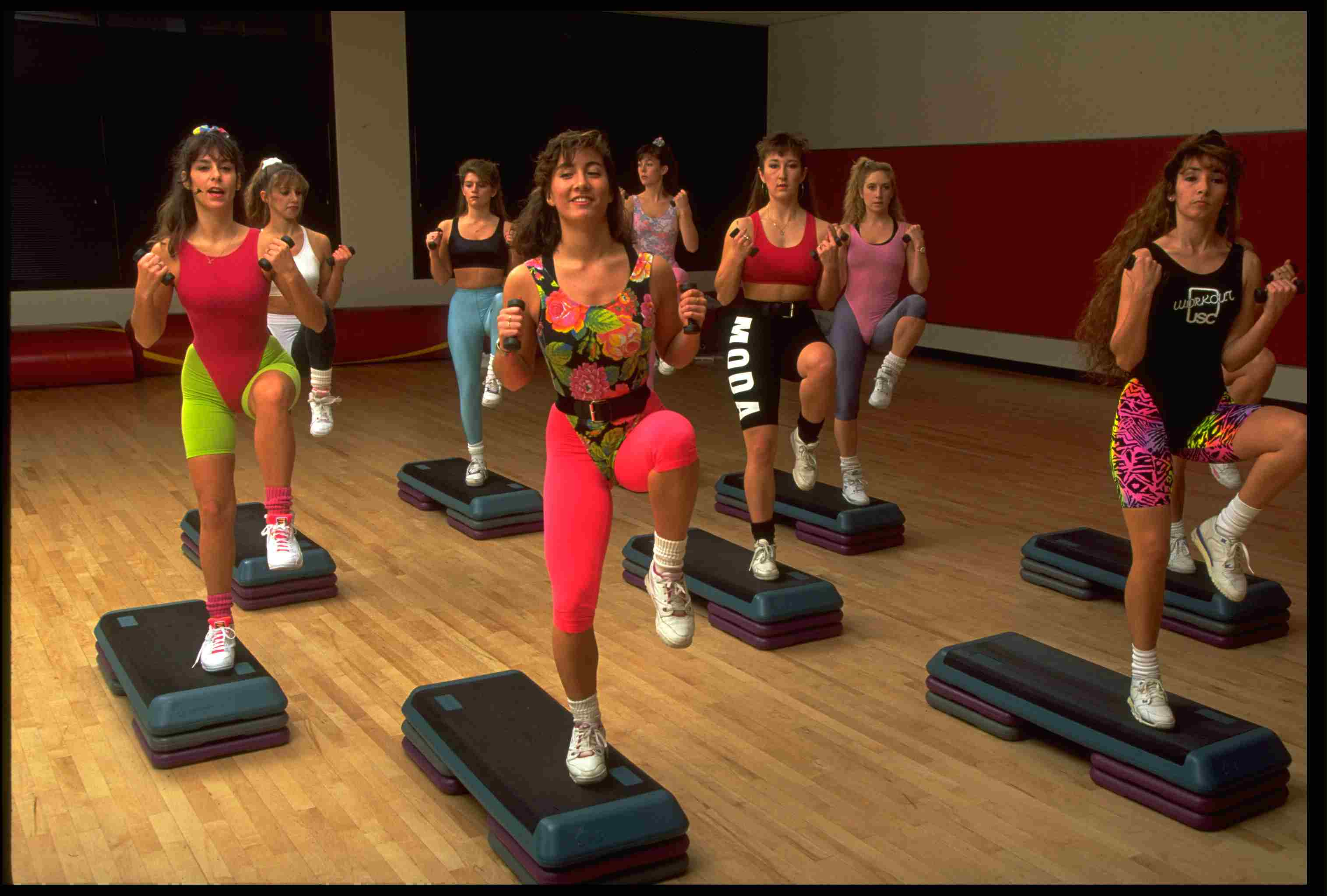 Step Aerobics 1980s