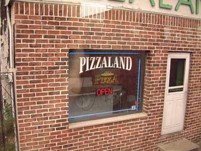 Pizzaland from The Sopranos Opening Sequence