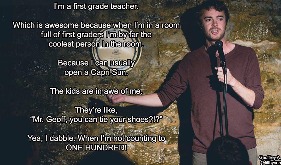 standup teacher