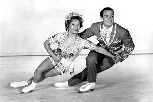 Olympic Pair Skating Champions and Ice Capades Stars Barbara Wagner and Bob Paul