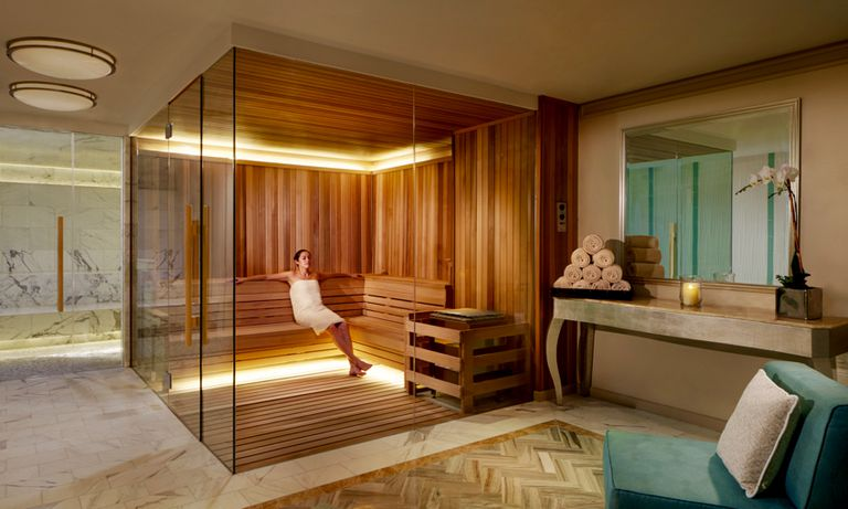 Amazing sauna at The Ritz-Carlton, Fort Lauderdae