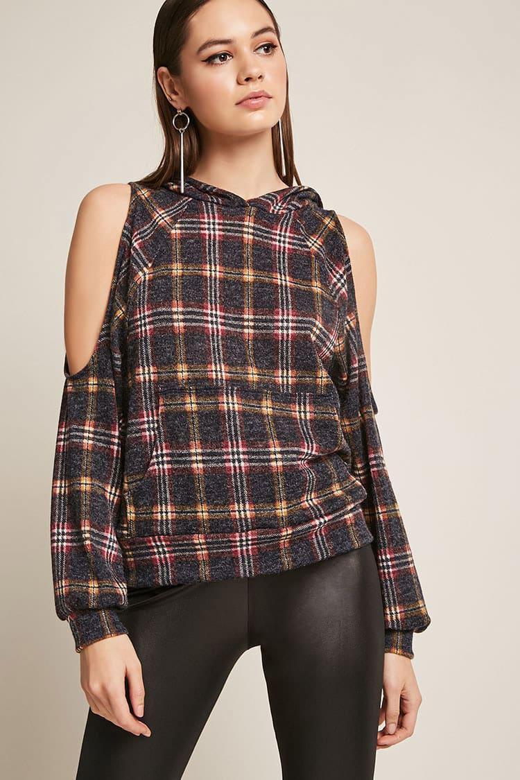 Plaid Flannel Top