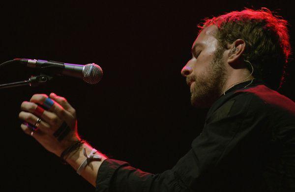 Chris Martin of Coldplay - Coachella 2005
