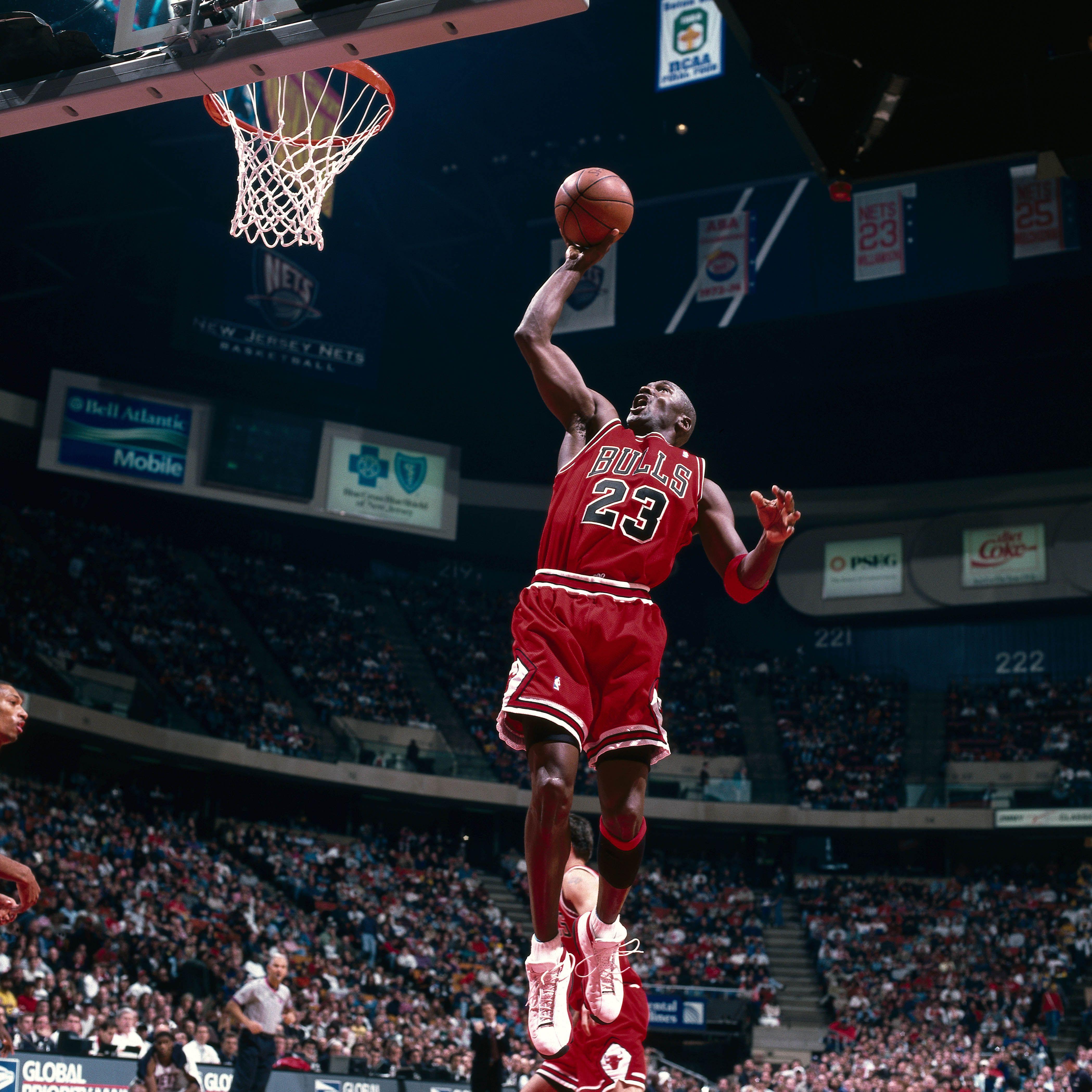 Michael Jordan dunk