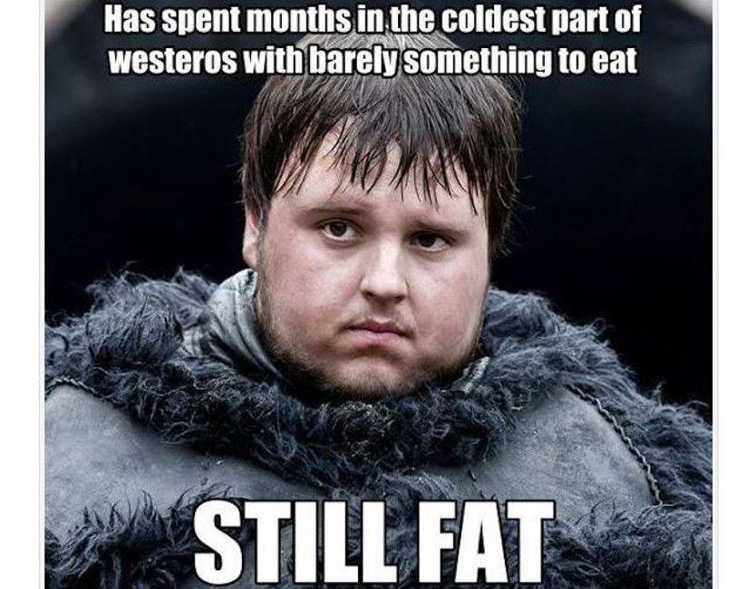 Samwell Tarley still fat meme