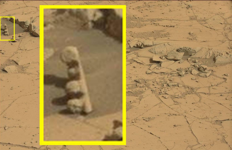 Martian Totem Pole
