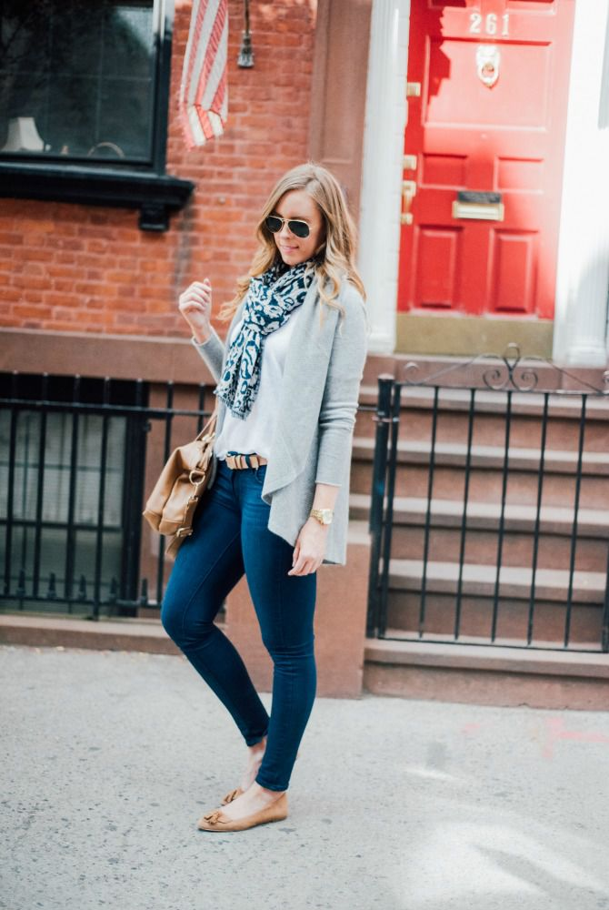 0bf307db8c6 How to Wear Skinny Jeans For Work To Look Polished