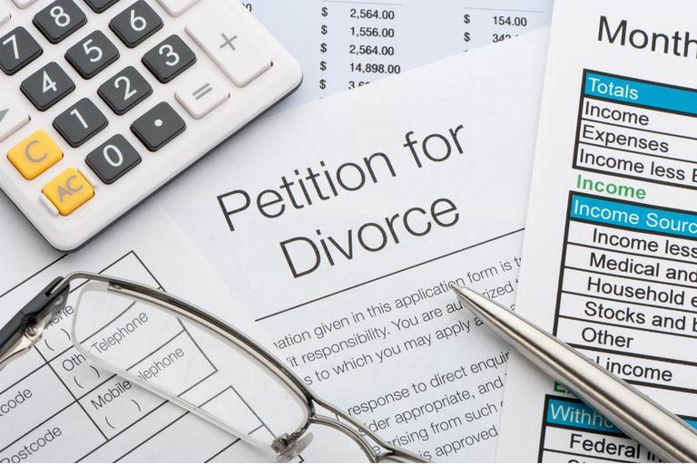Pro Se Petition for Divorce paperwork