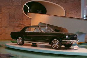 1964 1/2 Mustang on Display