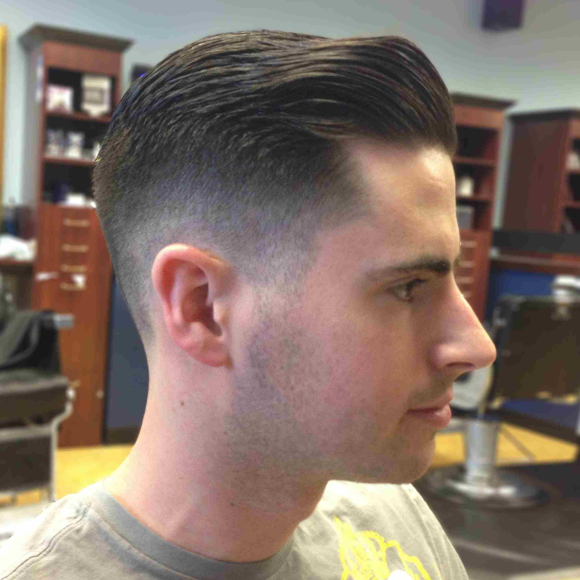 The Classic Taper Haircut