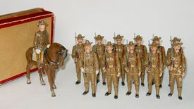A vintage toy soldier set that sells for upwards of $4,000.