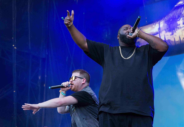Rap duo Run the Jewels