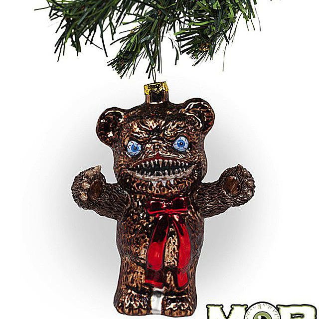 Krampus Teddy Bear Ornament