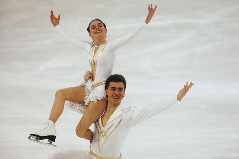 Figure Skating - Ekaterina Gordeeva and Sergei Grinkov