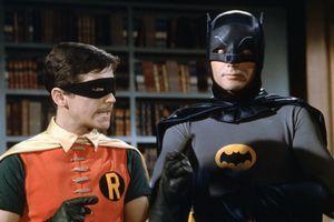 Batman and Robin on the 1960s-era TV show.