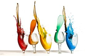 Paint in Glass