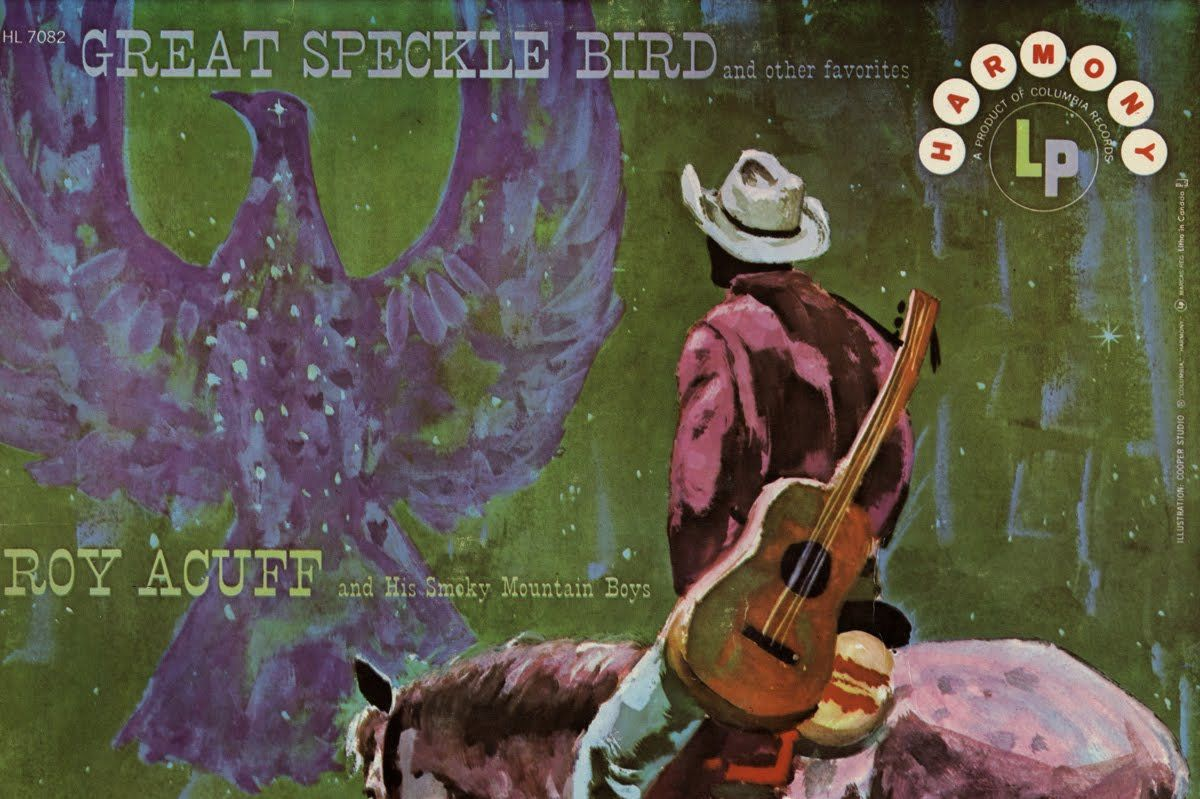 The Great Speckle Bird album cover