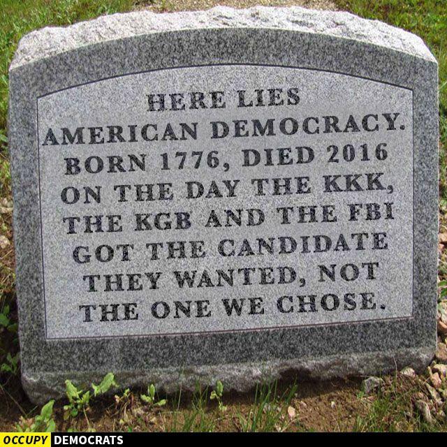 tombstone - Trump meme