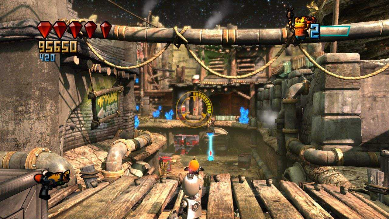Gameplay of PlayStation game PlayStation Move Heroes