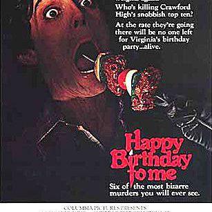 Happy Birthday to Me movie poster