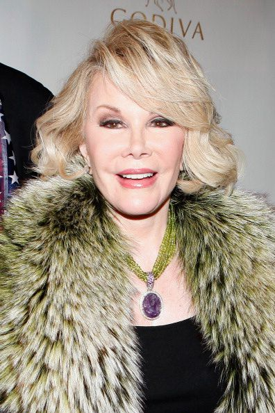 Comedian and Talk Show Host Joan Rivers