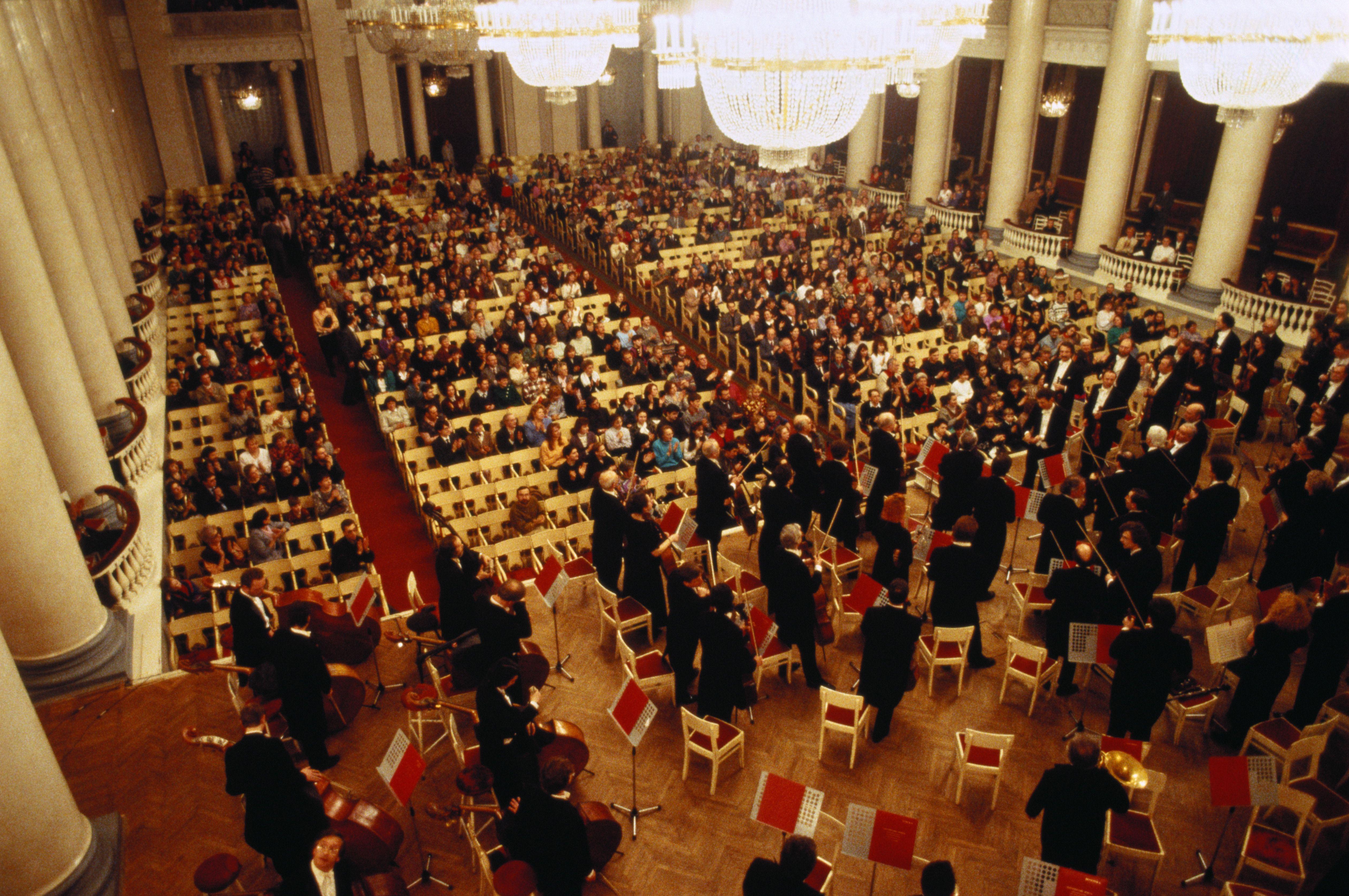 CIS,Russia,St.Petersburg,interior of Shostakovich Philharmonia Hall