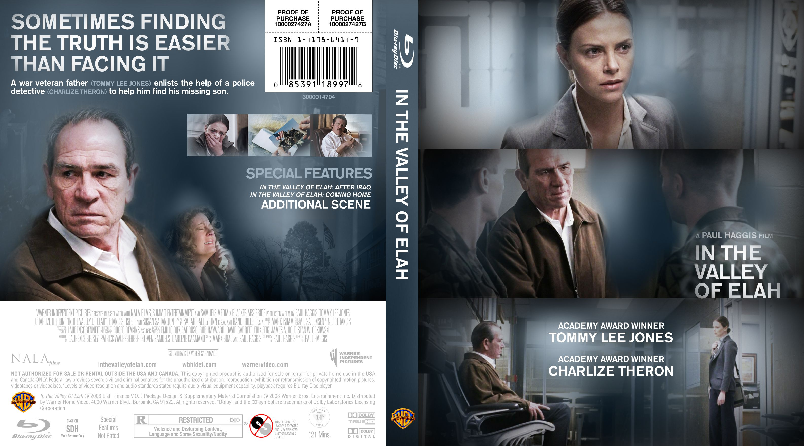 In the Valley of Elah BluRay cover