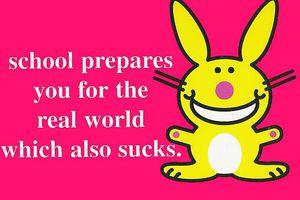 Happy Bunny by Jim Benton