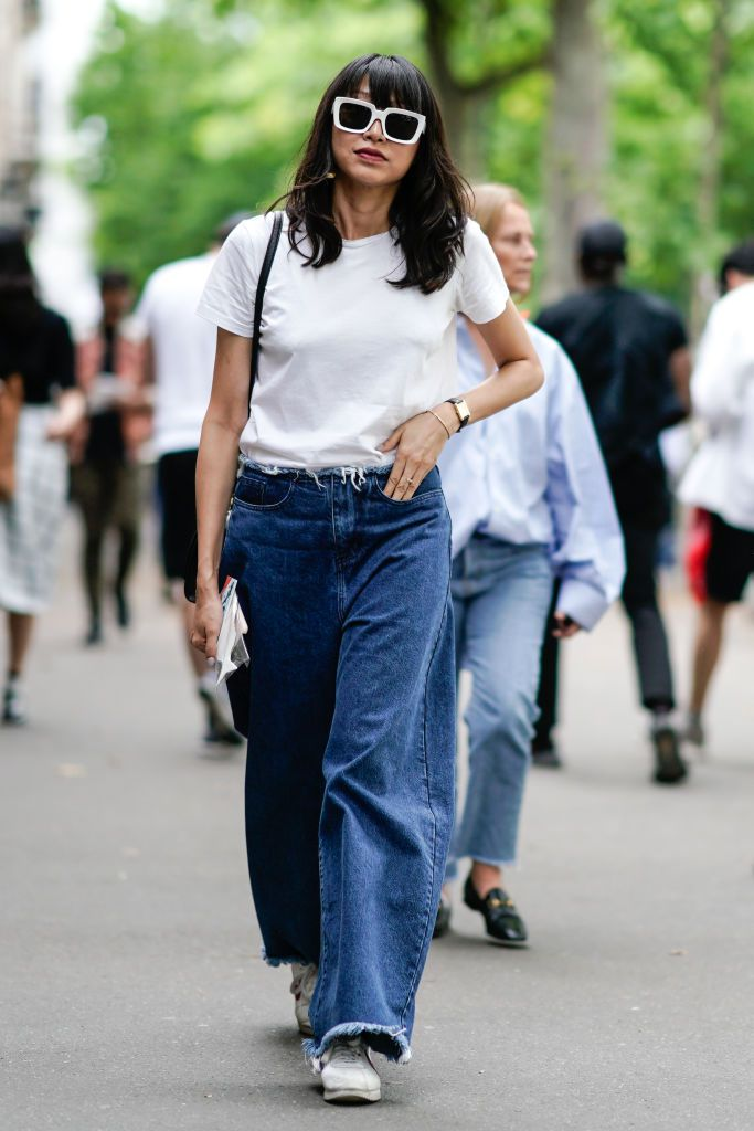 92273aefa578 2018 Runway Denim Trends - What Jeans to Wear in 2018