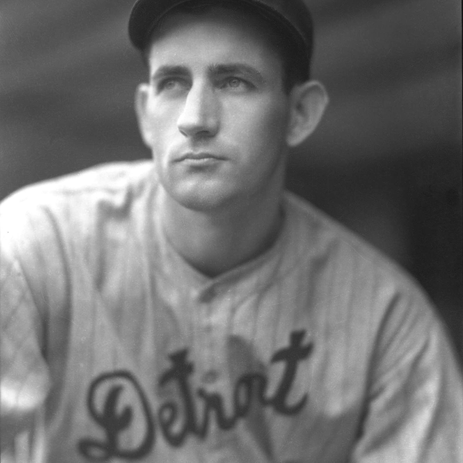 1930s: Detroit Tigers player Charlie Gehringer in a portrait pose.