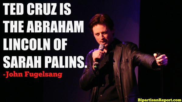 Ted Cruz: The Abraham Lincoln of Sarah Palins