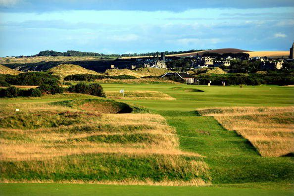 Old Course at St. Andrews Hole 8