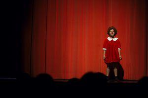 Little Orphan Annie sings