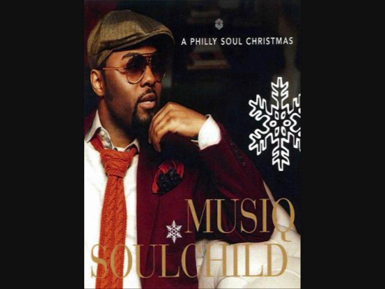 Musiq Soulchild Christmas album cover.