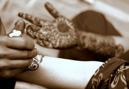 Henna Tattooing Symbols And Meanings