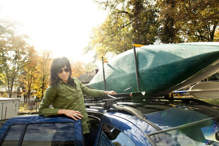 How To Strap Two Kayaks To A Car Roof Rack