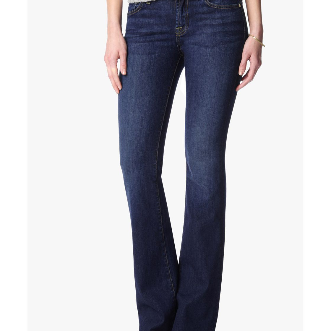 7 for All Mankind Tailorless Short Inseam Jeans