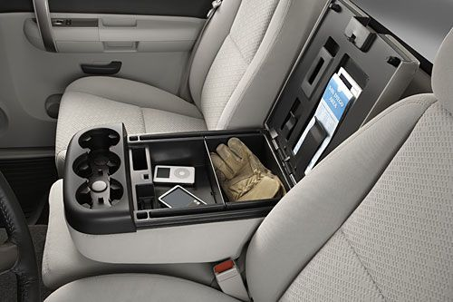 2007 Chevy Silverado LT - Front Bench Console
