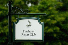 Pinehurst Resort Club signage