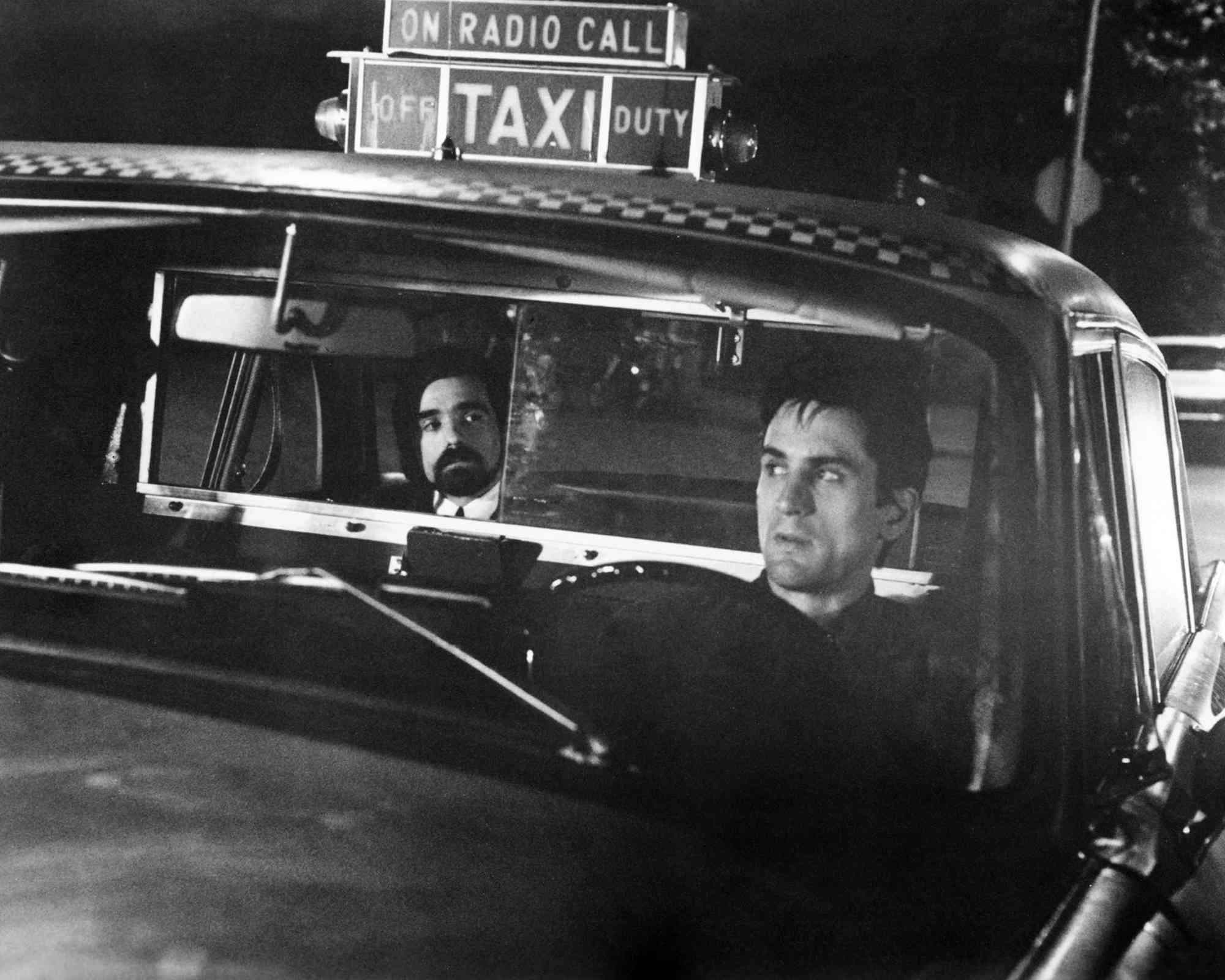 Director Martin Scorsese acting in