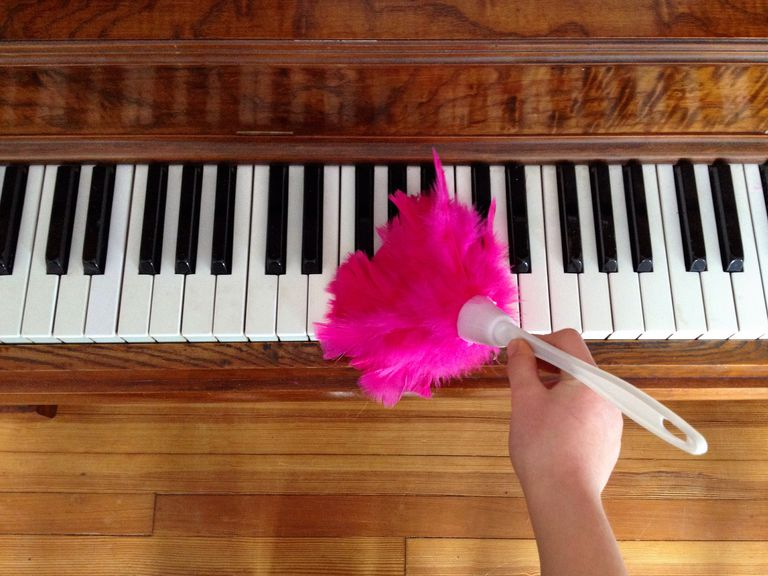 Tips for Cleaning a Piano - Music Instrument Care