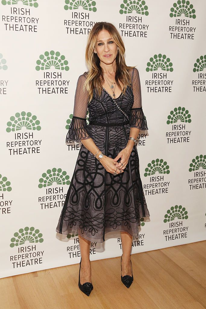 Actress Sarah Jessica Parker attends the opening night of 'Shining City' at the Irish Repertory Theatre on June 9, 2016 in New York City.