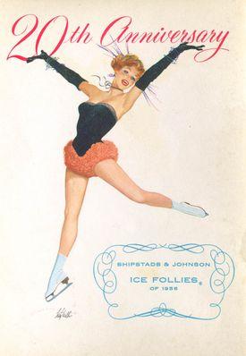 20th Anniversery Ice Follies 1956