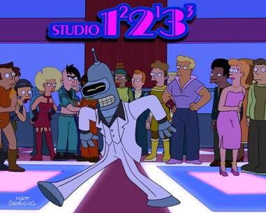 Futurama - Bender Does Disco