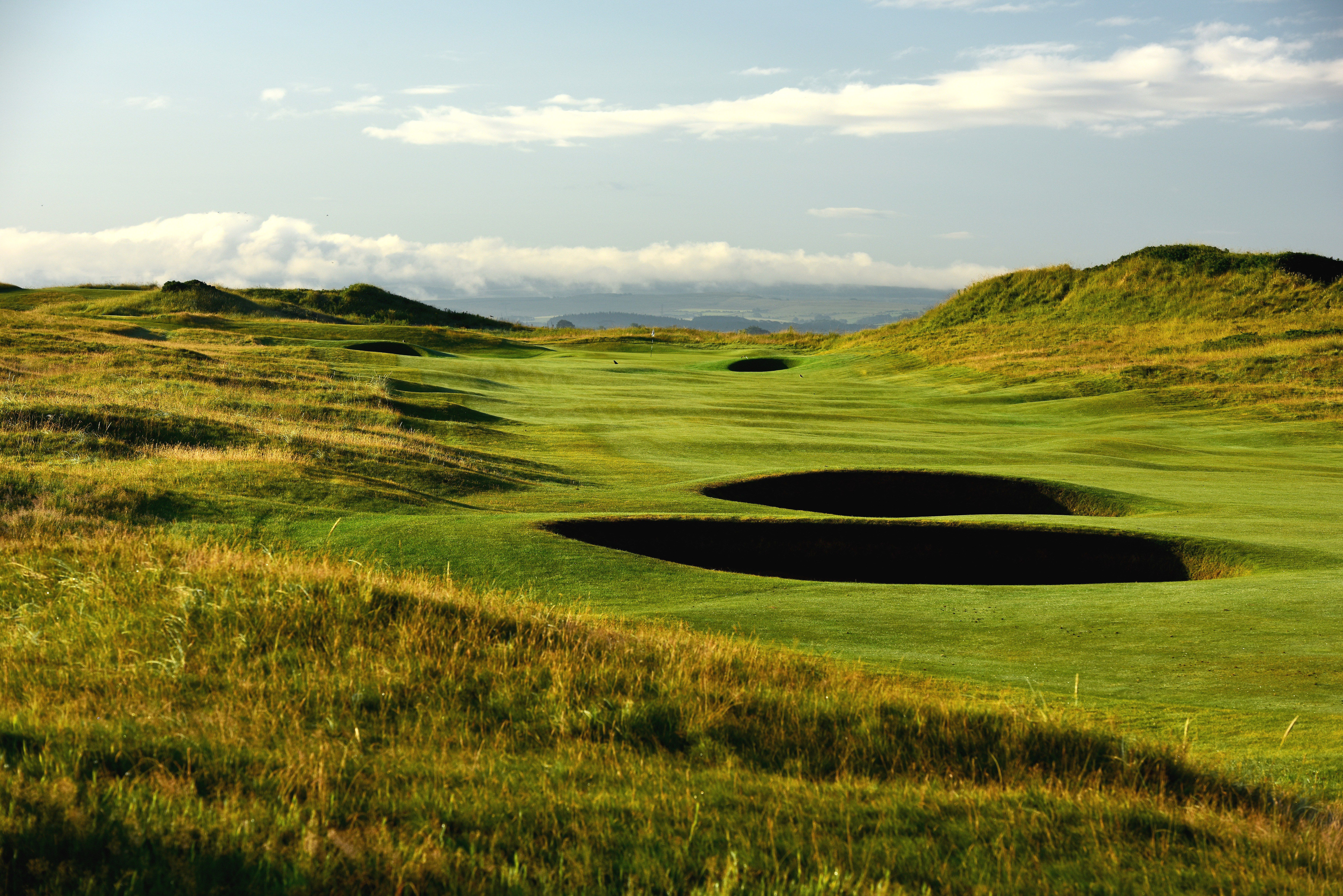 The 601 yards par 5, 6th hole Turnberry on the Old Course at Royal Troon
