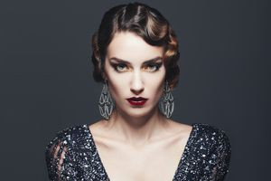 Finger Waves Hairstyle