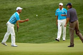 Paul Casey conceded a putt to Steve Stricker at the 2008 Ryder Cup